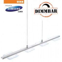 Dimmbare Design LED-Pendelleuchte 4-flg. von FLI