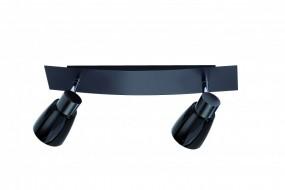 2er Spotschiene FLI 212632 - 36 cm - schwenkbar - schwarz