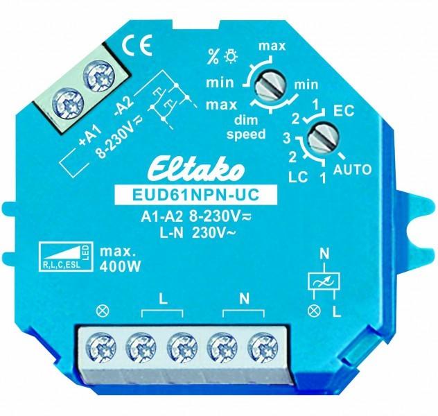 Eltako Universal Dimmschalter EUD61NPN-UC