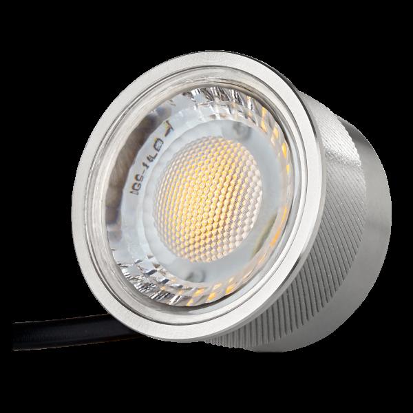 NEU! LEDANDO LED SPOT 5W mit dimmbarer Farbtemperatur - 1800-3000K warmweiß - 60° Abstrahlwinkel - 50W Ersatz - extra flach - stufenlos dimmbar [5W LED Strahler Ultra warm DIM TO WARM flat spot]